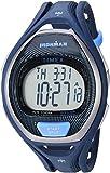 Timex TW5M17600 Ironman Sleek 50 - Orologio unisex con cinturino in resina blu/nero