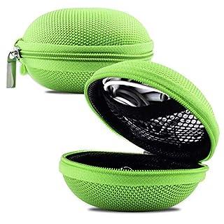 Hartschalen-Schutzhülle für Kopfhörer und Kopfhörer, für Nuheara IQbuds, Grün