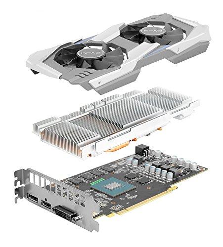 Kfa2 Nvidia Geforce Gtx 1060 Oc 6gb, 60nrh7dsl9ok, Schwarz