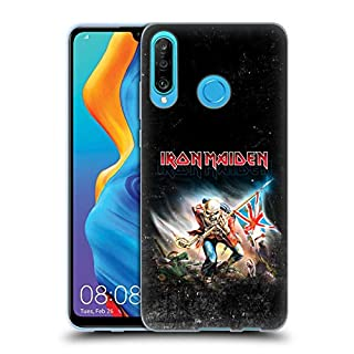 Head Case Designs Officiel Iron Maiden Trooper 2016 Art Coque en Gel Doux Compatible avec Huawei P30 Lite