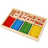 #9: Montessori Mathematical Intelligence Stick Preschool Educational Toy for Kids