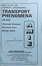 AMIE - Section (B) Transport Phenomena (CH-404) Chemical Engineering Solved and Unsolved Paper