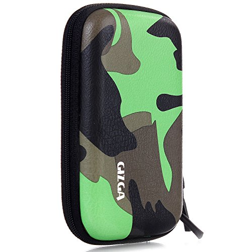 GIZGA Branded 2.5 inch HARD SHELL Camouflage Series, External Portable Hard Disk Drive Carry Cover Protector/ Pouch / Bag/HDD Case