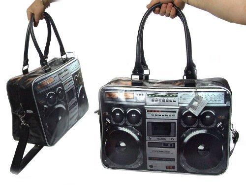 Wanted HY0009 Tasche Ghetto Blaster mit Bild Druck