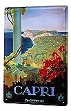 Blechschild XXL Abenteurer Capri