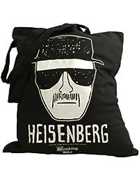 """Breaking Bad oficial de Heisenberg Walter White """"Sketch Tote Compras Bolsa De La Compra"""