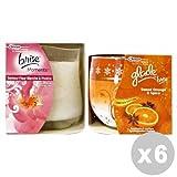 Glade Lot 6Glade Bougie parfumée mixtes–Déodorants maison