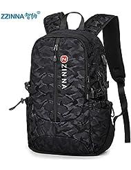 Hombres de moda CengBao doble bolso mochila de gran capacidad paquetes PC bolsa de viaje de estudiantes de escuela secundaria de ocio mochilas escolares