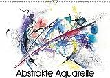 Abstrakte Aquarelle (Wandkalender 2018 DIN A3 quer): Moderne Aquarelle mit Kreide und Tusche (Monatskalender, 14 Seiten ) (CALVENDO Kunst) [Kalender] [Apr 01, 2017] Krause, Jitka