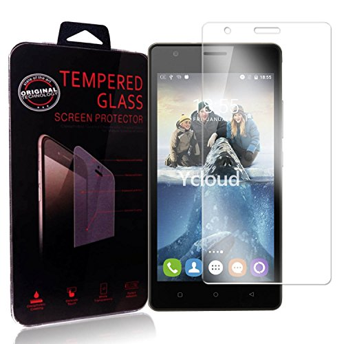 Ycloud Panzerglas Folie Schutzfolie Bildschirmschutzfolie für Oukitel C4 Screen Protector mit Härtegrad 9H, 0,26mm Ultra-Dünn, Abger&ete Kanten