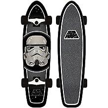 Santa Cruz Skateboard Longboard Star Wars Stormtrooper Cruzer - Longboard, talla 7.4 x 29.1 Zoll
