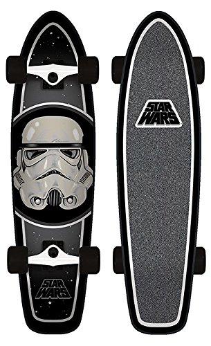 Santa Cruz Skateboard Longboard Star Wars Stormtrooper Cruzer, 7.4 x 29.1 Zoll, SANLOBSTWASTCR