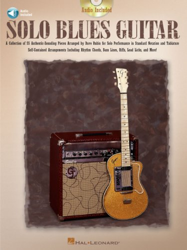 Solo Blues Guitar (Music Instruction) (Guitar Collection) (English ...
