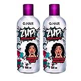 G Hair Zup Trattamento di Stiratura per Capelli (2 X 500ML) 87c191e6a91a