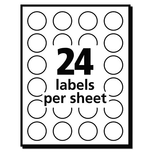 "Avery - Removable Labels, 3/4"" Round, 1008/PK, Light Blue, Sold as 1 Package, AVE05461"