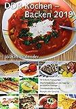 Wochenkalender DDR Kochen - Backen 2019