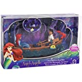 Disney Princess Toy Figure Playset - Ariel and Prince Eric's Boat Ride