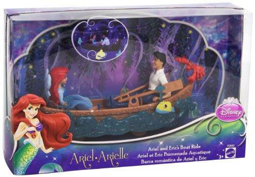 lzeug Figur Spielset–Ariel und Prinz Eric 's Boat Ride (Disney Prinzessin Ariel)