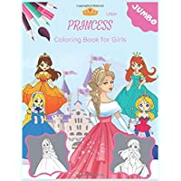Little Princess Coloring Book for Girls: Beautiful color wonder princess activity book toddler, Fairy coloring books for kids ages 4-8