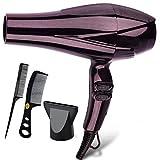 Asciugacapelli Asciugacapelli Asciugacapelli Uomo Asciugacapelli Asciugacapelli con attacco diffusore Asciugacapelli con pettine per capelli afro (Colore : A)