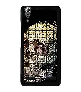 Skull of Skulls 2D Hard Polycarbonate Designer Back Case Cover for Lenovo A6000 :: Lenovo A6000 Plus :: Lenovo A6000+