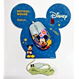 HMI Disney Original 3 Key Mini Optical Mouse In Mickey Mouse, Minnie Mouse And Winnie The Pooh Character (Mickey Mouse)