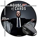 House Of Cards Frank Underwood Kevin Spacey Tapis De Souris Ronde Round Mousepad PC