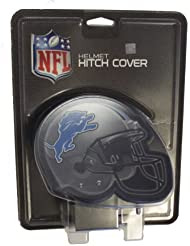 NFL Licensed Helmet Hitch Cover (Detroit Lions) by Rico