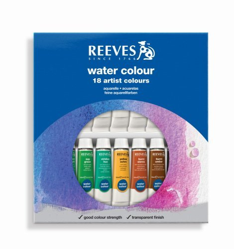 REEVES AQUARELL 18X12ML SET -