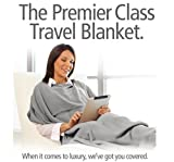 Travelrest 4-in1 Premier Class Travel Blanket with Pocket Review and Comparison