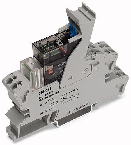 WAGO 788-341 GRIS BLOQUE PARA TERMINAL ELECTRICA - ELECTRICAL TERMINAL BLOCK