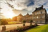 Poster 150 x 100 cm: Luxemburg-Palast an Einem sonnigen Tag