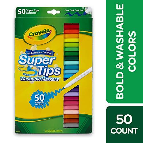 CRAYOLA Super Tips Washable
