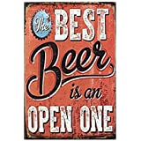 Metal Wall Signs Retro Tin Signs Metal Posters Beer Theme Plaque Poster Tavern Bar Pub Shop