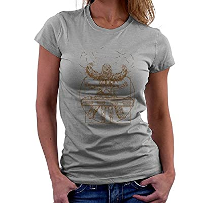 Victory Or Death Chewbacca,Boba Fett Han Solo Carbonite Vitruvian Star Wars Women's T-Shirt