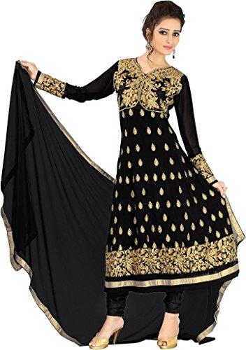 Indisch Salwar Kameez Frau Nicht abgesteppt kleid partywear Nicht Gewunden Nur Material Mirchi Fashion (Kameez Anarkali Salwar)