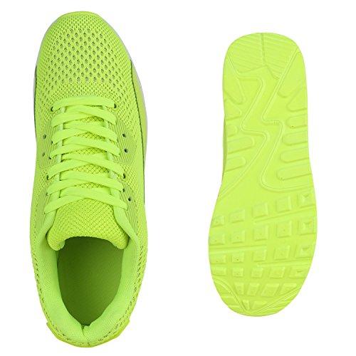 Homens Imprime Esportivos Neon Sneakers Corredores Mulheres Amarelo Tênis Calçados T4PBzP