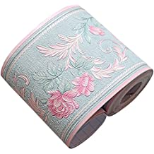 Cenefa de papel pintado impermeable, de Da Jia Inc, en rollo de 10 x