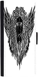 Snoogg Lion With Wings Vector T Shirt Designdesigner Protective Flip Case Cov...