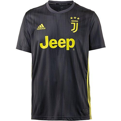 adidas Juve 3JSY, T-Shirt Herren M Carbon/Shoyel