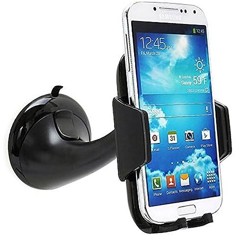 MTP Samsung Galaxy S6 edge Plus, Huawei Honor 7, HTC One M9, LG G4, Sony Xperia C4 Dual Soporte Universal de Coche para dispositivos desde 60mm et 90mm a ancho