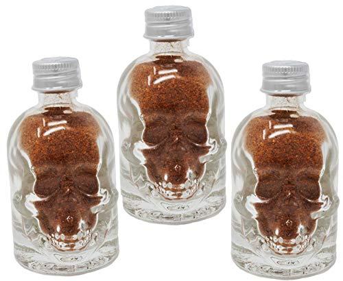 Die 3 schärfsten Chilies der Welt im Geschenkset – Ghost Chili, Trinidad Scorpion und Carolina Reaper Pulver