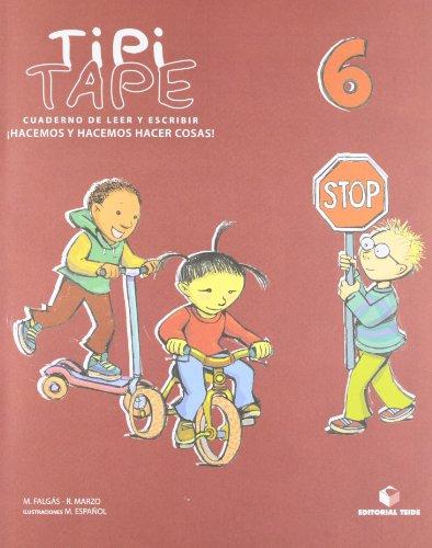 Tipi-Tape. Cuaderno de leer y escribir 06 - 9788430700868