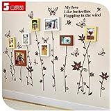 Galleria fotografica X&L Struttura in legno massello creative foto parete parete camera da letto divano giardino mix autoadesivo della...