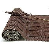 JIANFEI-Tenda di bambù Tenda A Rullo Decorazione Sala Protezione Solare, 3 Colori, 23 Taglie Personalizzabile (Colore : 2#, Dimensioni : 100x200cm)