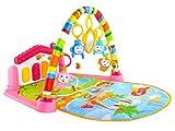 Iso Trade Musik-Spielbogen mit Keyboard Spielbogen Baby Krabbeldecke 2 Farben