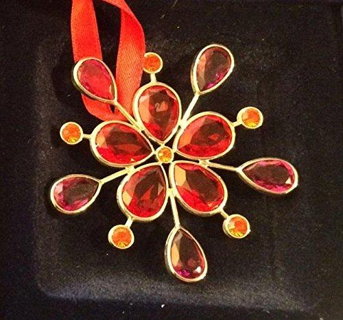 Swarovski jewels decorazione per interni rossa 674122 venduto con scatola e certificato originale spedizione in 24/48 ore