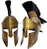 ANTIQUENAUTICAS 300 Film König Leonidas Spartaner Helm Griechischer Krieger Kostüm Helm Mittelalter