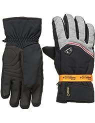 Ziener Guantes glarn GTX R Gore cálida Guantes de esquí Alpine, invierno, hombre, color Gris - Dark Melange, tamaño 7