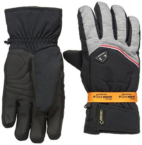 Ziener Herren Handschuhe Glarn GTX R Gore Warm Gloves Ski Alpine Skihandschuh, dark melange, 12 -